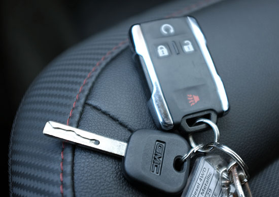GMC Car key replacement near me